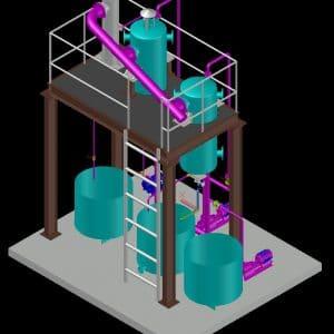 Multi Effect Evaporator Plant (MEE)